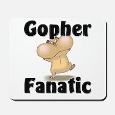 Gopher Fanatic Mousepad