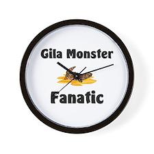 Gila Monster Fanatic Wall Clock