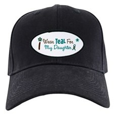 I Wear Teal For My Daughter 12 Baseball Hat