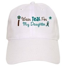 I Wear Teal For My Daughter 12 Baseball Cap