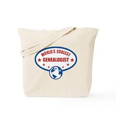Worlds Coolest Genealogist Tote Bag