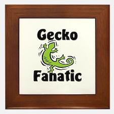 Gecko Fanatic Framed Tile