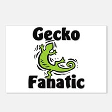 Gecko Fanatic Postcards (Package of 8)