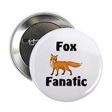 """Fox Fanatic 2.25"""" Button"""