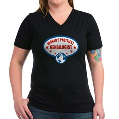 Worlds Prettiest Genealogist Shirt