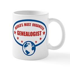 Worlds Most Organized Genealogist Mug