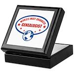 Worlds Most Organized Genealogist Keepsake Box