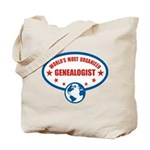 Worlds Most Organized Genealogist Tote Bag