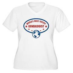 Worlds Most Patient Genealogist T-Shirt