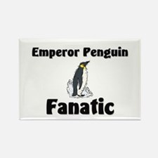 Emperor Penguin Fanatic Rectangle Magnet