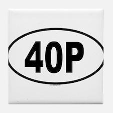 40P Tile Coaster