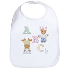 Teddy Tots Alphabet Bears Bib