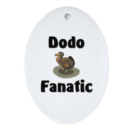 Dodo Fanatic Oval Ornament