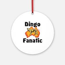 Dingo Fanatic Ornament (Round)