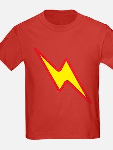 Lightning Kids Red T-Shirt