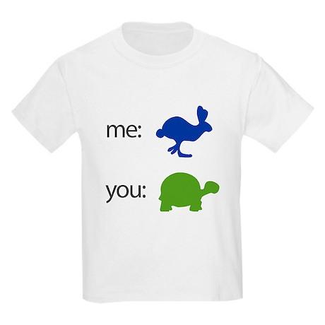 Rabbit vs. Turtle Kids Light T-Shirt