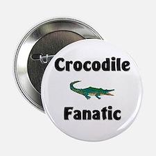 """Crocodile Fanatic 2.25"""" Button"""