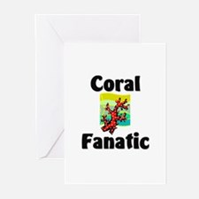 Coral Fanatic Greeting Cards (Pk of 10)