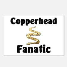 Copperhead Fanatic Postcards (Package of 8)