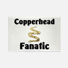 Copperhead Fanatic Rectangle Magnet