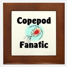Copepod Fanatic Framed Tile