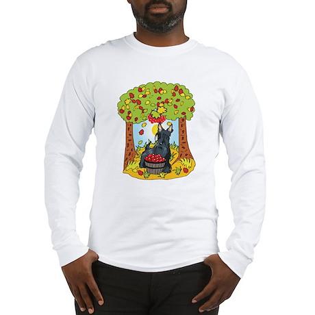 Fall Scottish Terrier Long Sleeve T-Shirt