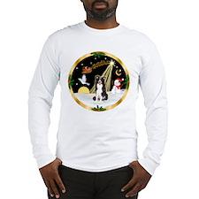 Night Flight/Border Collie Long Sleeve T-Shirt