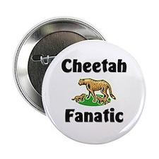 "Cheetah Fanatic 2.25"" Button"