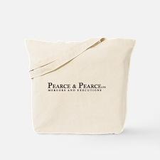 """American Psycho """"Pearce & Pea Tote Bag"""