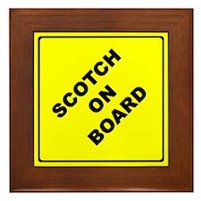 Scotch On Board Framed Tile