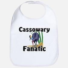 Cassowary Fanatic Bib