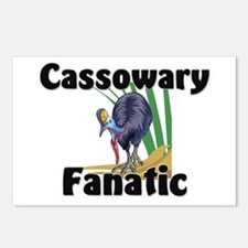Cassowary Fanatic Postcards (Package of 8)
