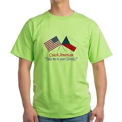 Czech American T-Shirt