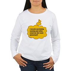 Need genealogy T-Shirt