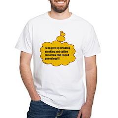 Need genealogy White T-Shirt