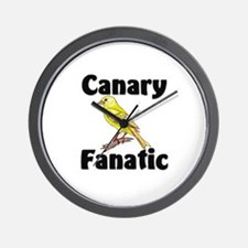 Canary Fanatic Wall Clock