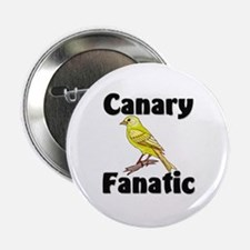 "Canary Fanatic 2.25"" Button (10 pack)"