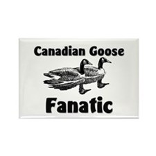 Canadian Goose Fanatic Rectangle Magnet
