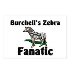 Burchell's Zebra Fanatic Postcards (Package of 8)