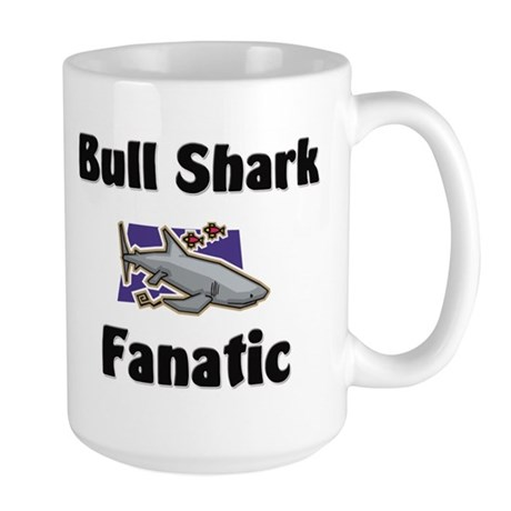 Bull Shark Fanatic Large Mug