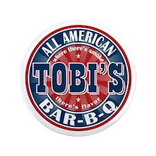 "Tobi's All American BBQ 3.5"" Button"