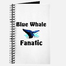 Blue Whale Fanatic Journal