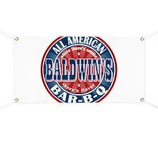 Baldwin's All American BBQ Banner