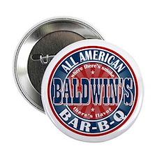 "Baldwin's All American BBQ 2.25"" Button (100 pack)"