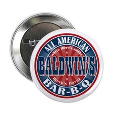 "Baldwin's All American BBQ 2.25"" Button (10 pack)"