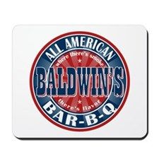Baldwin's All American BBQ Mousepad