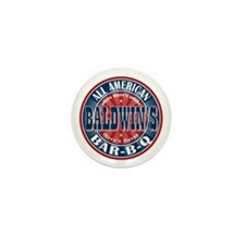 Baldwin's All American BBQ Mini Button
