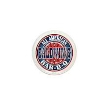 Baldwin's All American BBQ Mini Button (10 pack)