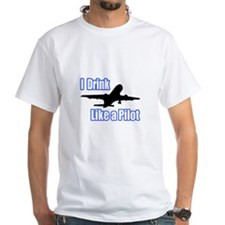 """""""I Drink Like A Pilot"""" Shirt"""