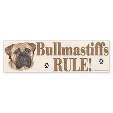 Bullmastiffs Rule Bumper Stickers